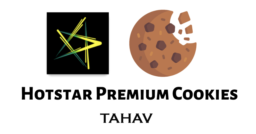 Hotstar Premium Cookies 2019 [*100% Working & Daily Updated*]