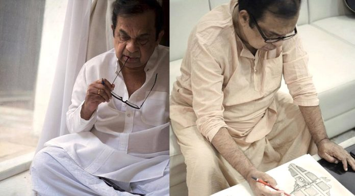 After Sri Sri Sketch, Brahmanandam Comes Up With One More!