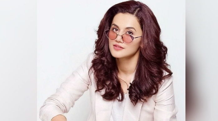 Taapsee's film Is The First To Get COVID Insurance